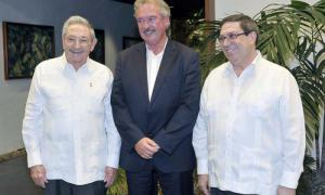Raul a reçu le ministre des Affaires étrangères et européennes du Luxembourg