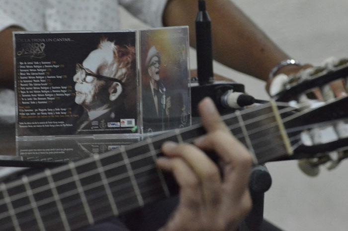 Trois albums de Sindo Garay édités par l'Egrem