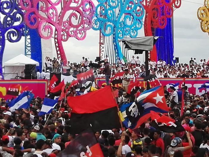 La fête de la révolution au Nicaragua