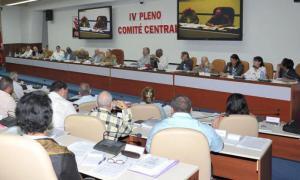 4e Session plénière du Comité central du Parti
