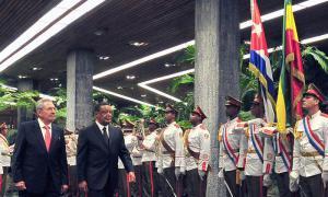 Raul a reçu le président d'Éthiopie