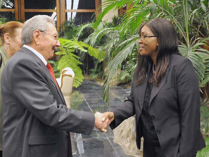 Raul a reçu la Première ministre namibienne