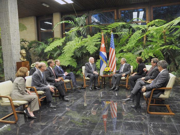 Raul Castro a reçu une délégation du Congrès des États-Unis