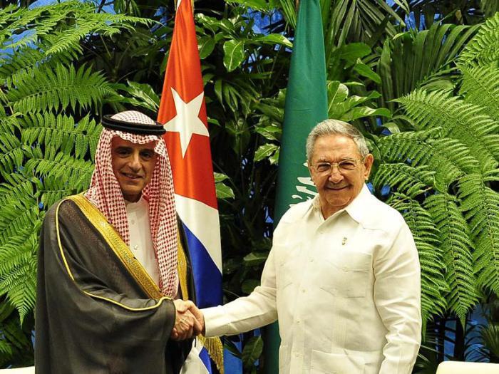 Raul a reçu le ministre saoudien des Affaires étrangères