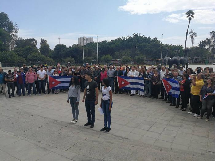 La délégation cubaine rend hommage aux Pères fondateurs du Pérou