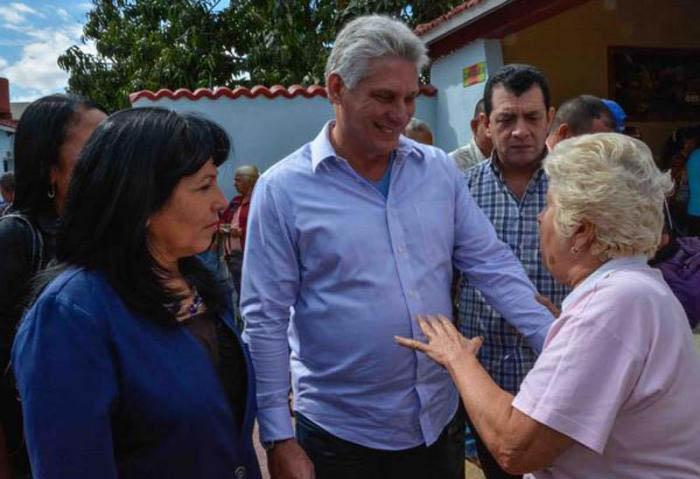 Désignation de Miguel Diaz-Canel en tant que candidat à la présidence du Conseil d'État de Cuba