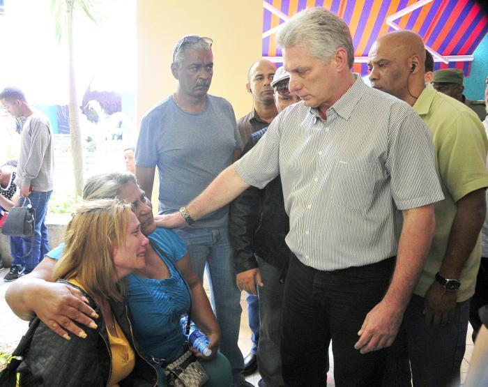 Cuba meurtrie partage la douleur
