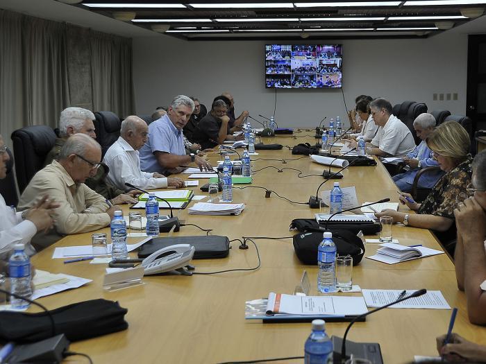 Le gouvernement cubain assure le suivi des travaux de relèvement