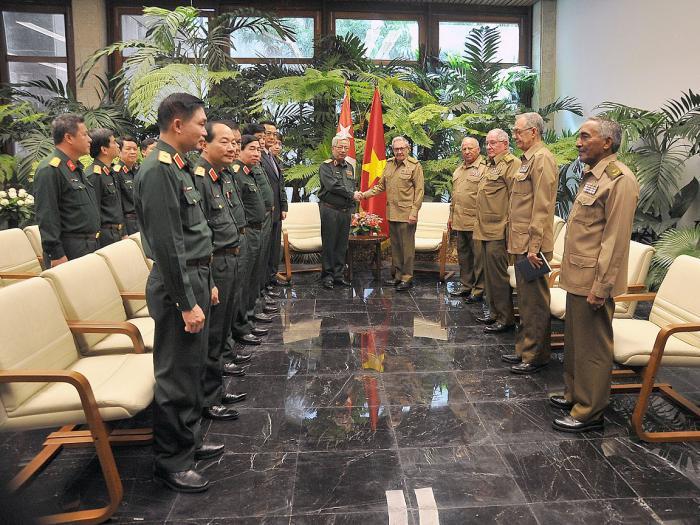 Raul A Reçu Le Vice-ministre De La Défense Nationale De L